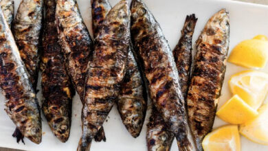 Photo of Grilled Whole Sardines